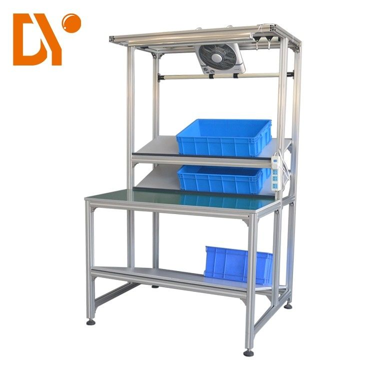 Workshop Industrial Heavy Duty Workbench DY404 With Stainless Steel Frame