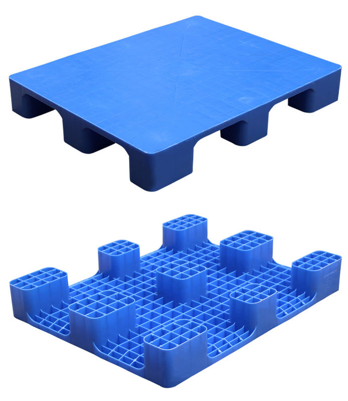 HDPE Double Faced Heavy Duty Plastic Pallets 4 Way Entry 2000kg Static Load