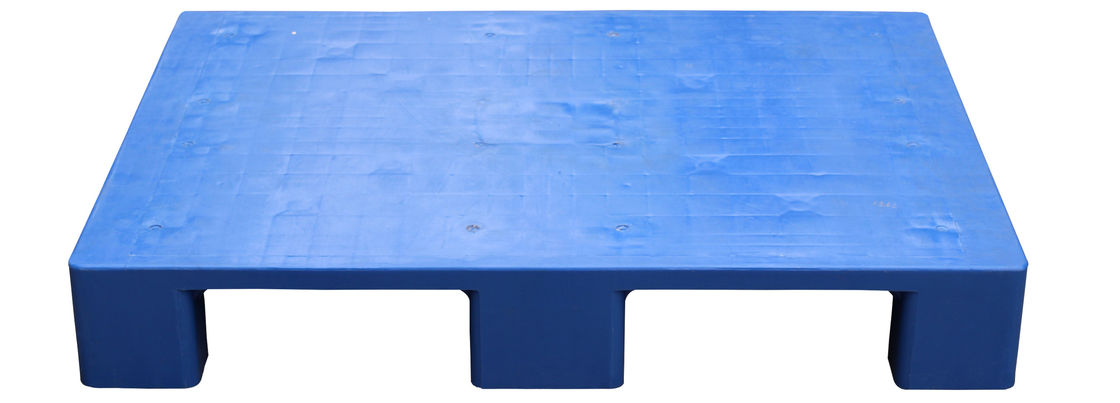 Nine Foot Stackable Plastic Pallets 800kg Dynamic Load For Warehouse Stacking